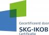 SKG-IKOB Gecertificeerd